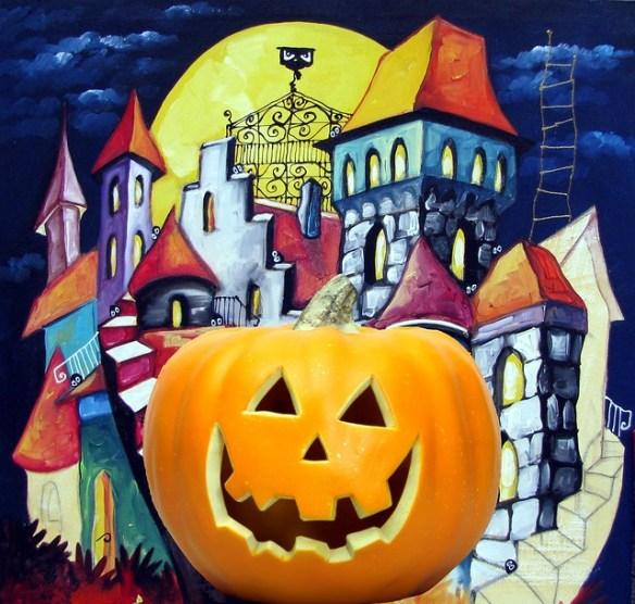European Halloween poster