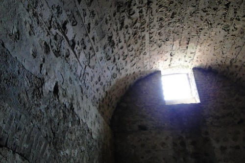 Interior of Men's Slave Cell - Cape Coast Castle - Cape Coast - Ghana