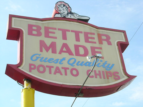 Better Made factory sign