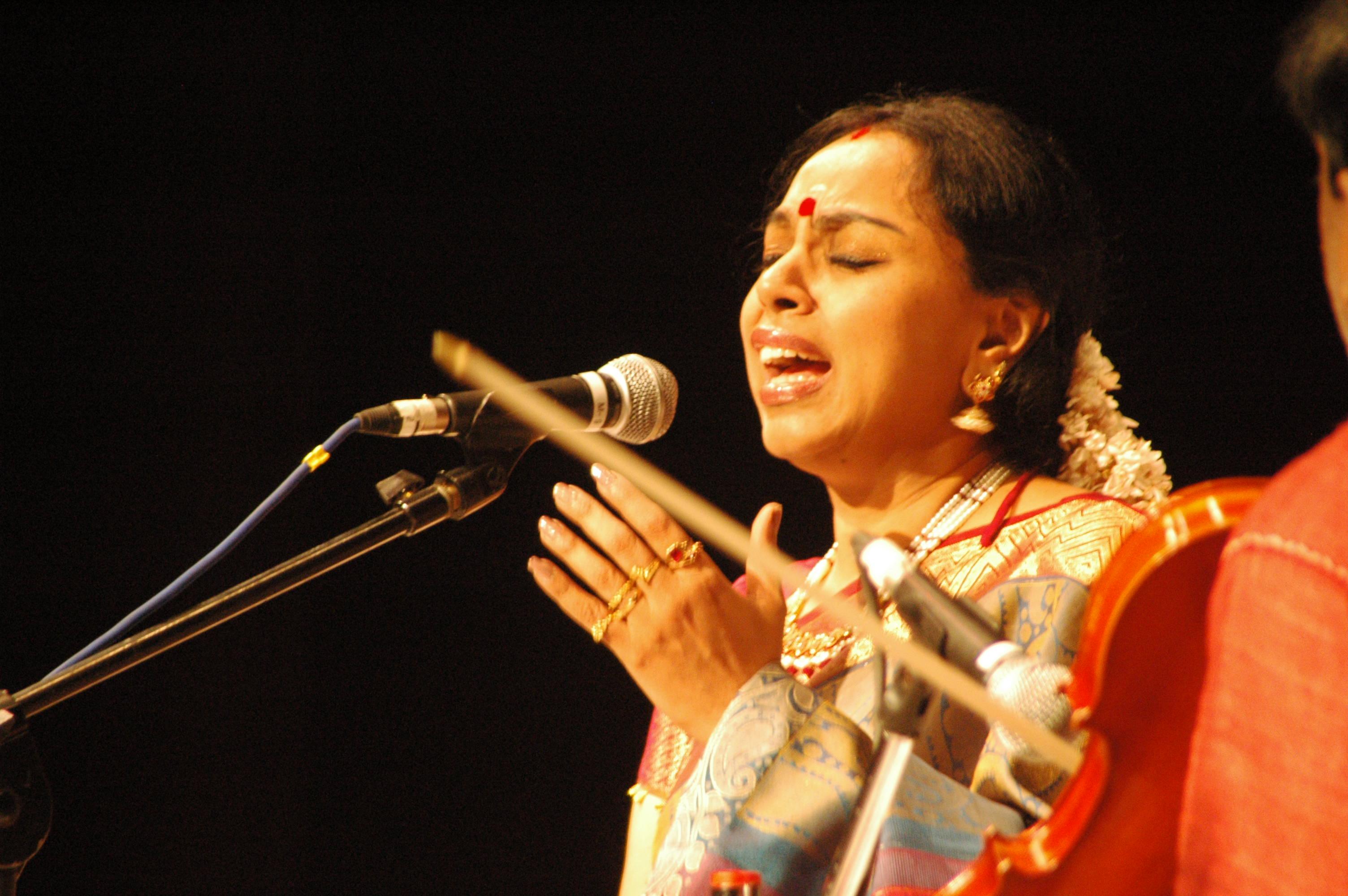 Outstanding Carnatic musican, SUdha