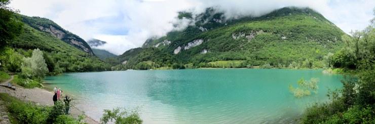 Lake Tenno panorama