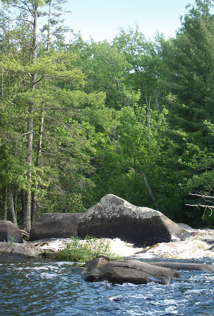 rapidrock on the Peshtigo River