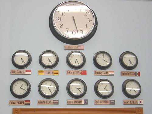 Global clocks