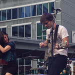 Said The Whale @ Young Dundas Square