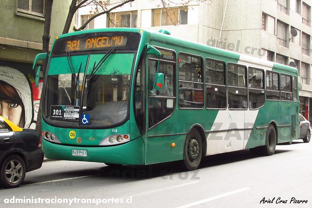 Transantiago - Buses Vule - Busscar Urbanuss Pluss / Mercedes Benz (BJFP51)