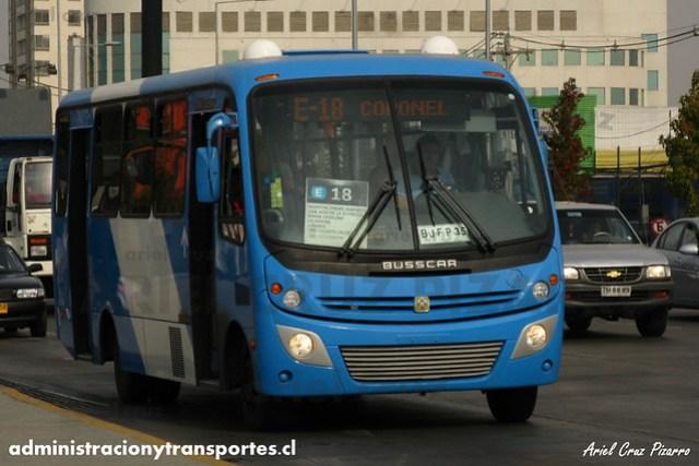 Transantiago - Unitran - Busscar Micruss / Mercedes Benz (BJFP35)