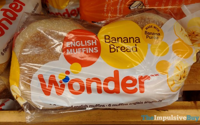 Wonder Banana Bread English Muffins