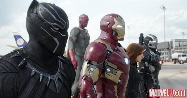 Captain America Civil War Team Ironman