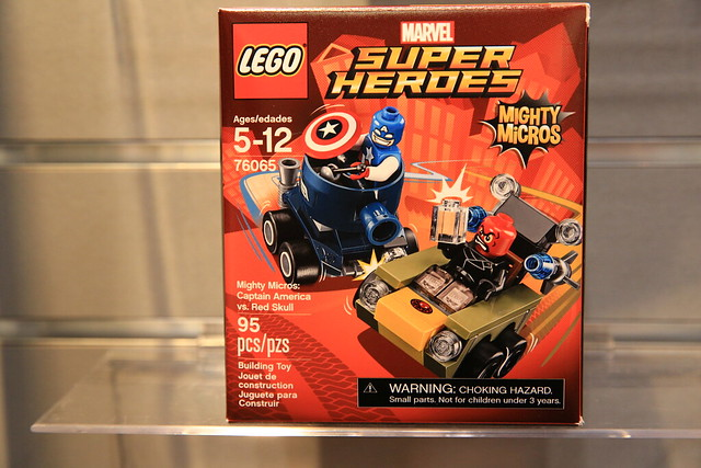 LEGO Marvel 76065 Captain America vs. Red Skull 1