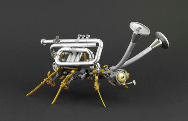 Steampunk Brass Bug