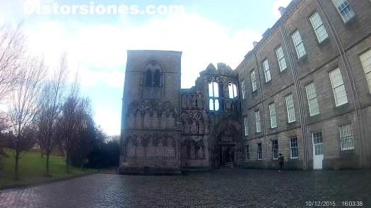 Ruinas de la abadi?a de Holyrood