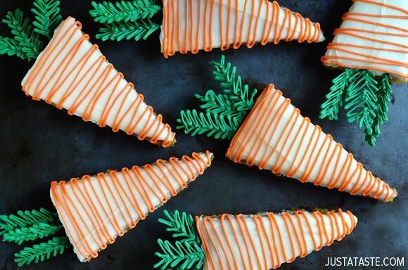 Pineapple Carrot Cakes