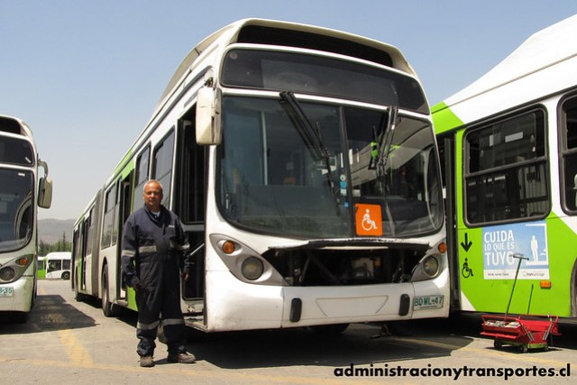 Transantiago - Subus Chile - Marcopolo Gran Viale / Volvo (BDWL47) (9563)