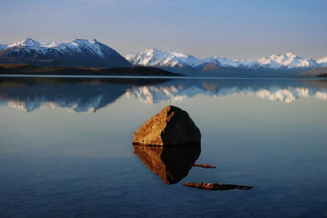 Lake Tekapo in spring