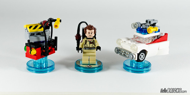 REVIEW LEGO Dimensions 71228 Ghostbusters (Level Pack)