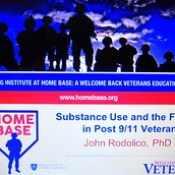 substance use disorder SUD in military, entire family wraparound treatment Home Base MGH Massachusetts General Hospital Red Sox Foundation