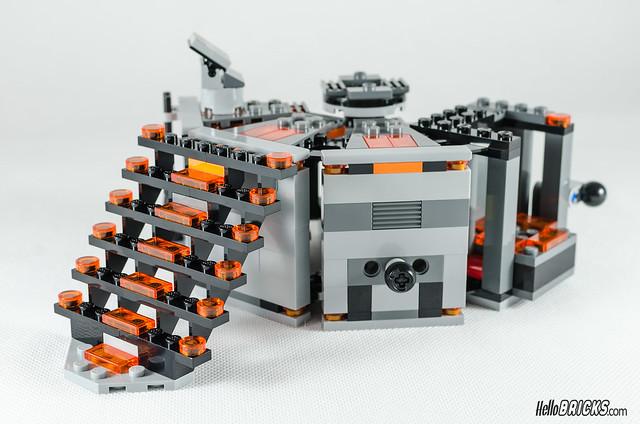 REVIEW LEGO Star Wars 75137 Carbon-Freezing Chamber 20 (HelloBricks)