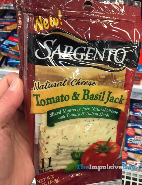 Sargento Tomato & Basil Jack Natural Cheese