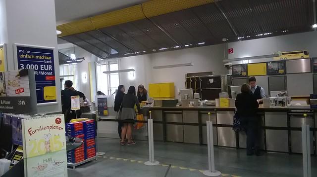 post office munich near main station