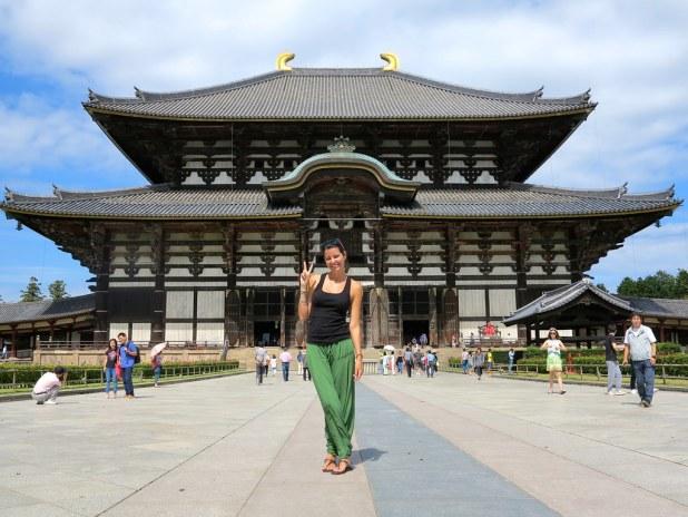 Visitar Nara y el templo Todaiji