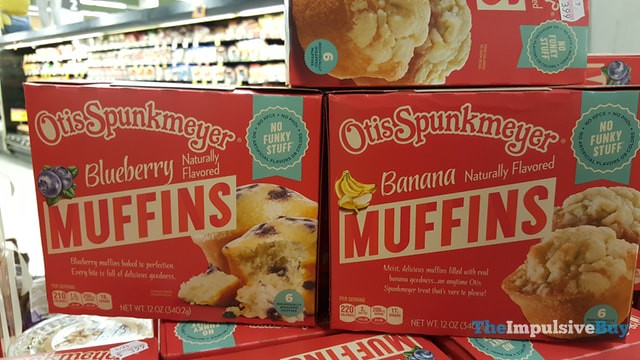 Otis Spunkmeyer Muffins (Blueberry and Banana)