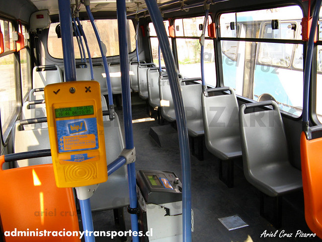 Transantiago - Unitran - Busscar Micruss / Mercedes Benz (BJFP20)