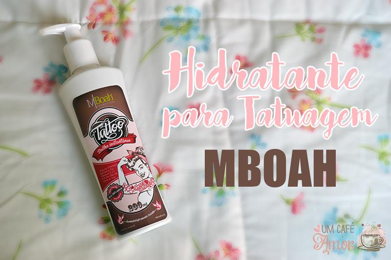 Hidratante para tatuagem MBoah