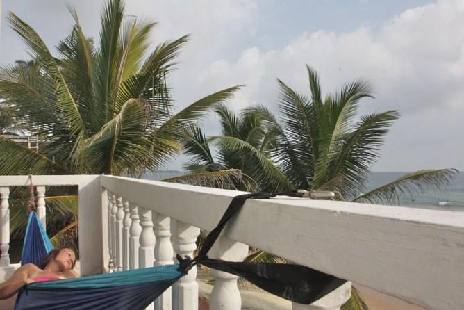 Sri Lanka HIkkaduwa majoitus