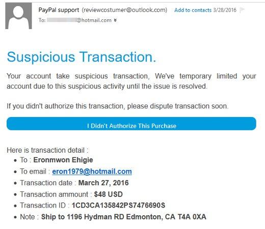 Phishing Email 02