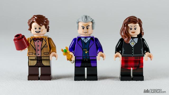 REVIEW LEGO Ideas 21304 Doctor Who (HelloBricks)