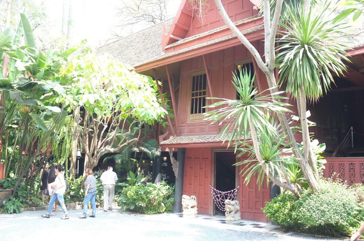 at the Jim Thompson's Museum