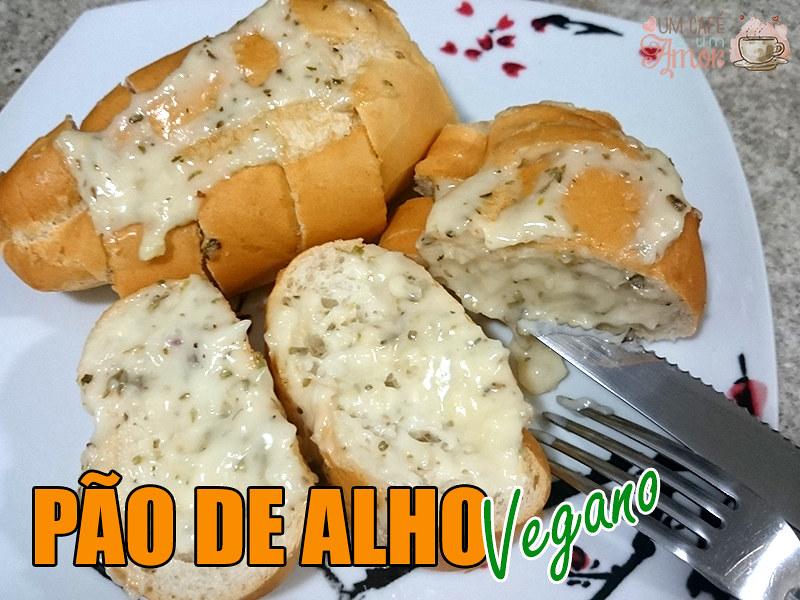 Pão de Alho Vegano