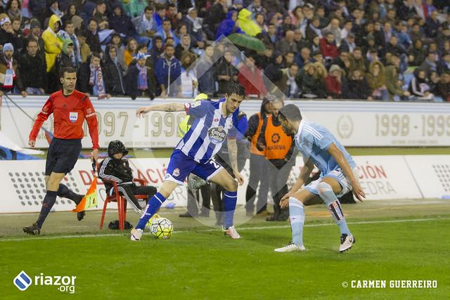Liga BBVA. Jornada 31ª. R.C.Celta 1 - R.C.Deportivo 1