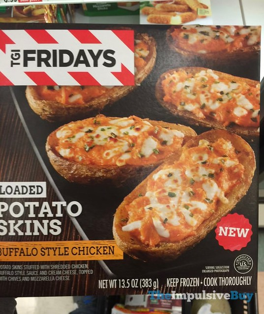TGI Friday Buffalo Style Chicken Loaded Potato Skins