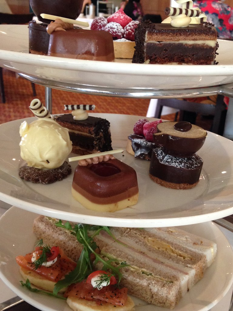 Celtic Manor Chocolate Afternoon Tea Review