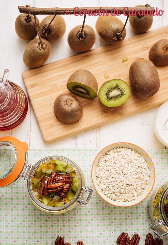 Porridge de Avena y Kiwi
