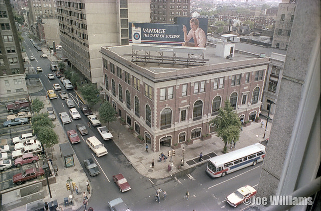 Above Broad & Spruce in 1983
