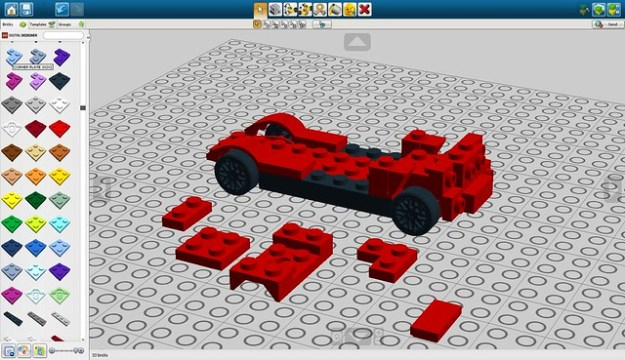Lego Digital Designer 4 Models - linoadragon