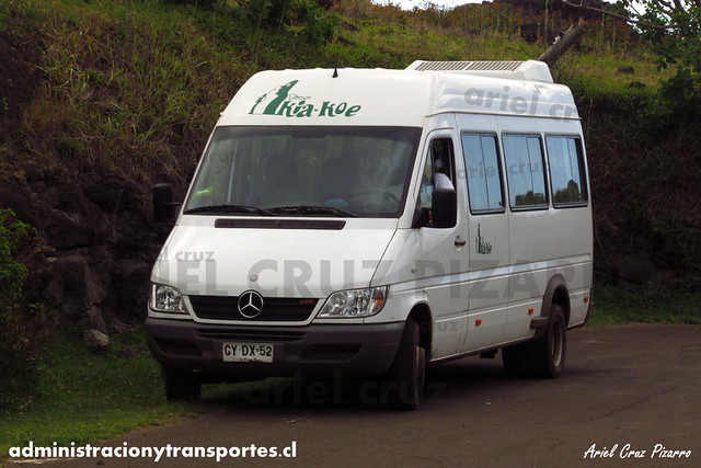 Turismo Kia Koe - Isla de Pascua - Mercedes Benz Sprinter (CYDX52)