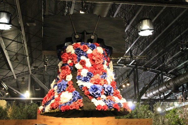 Liberty Bell with flowers - Shades of Sarah