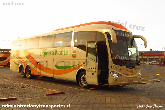 Expreso Norte | La Serena | Irizar I6 - Mercedes Benz (FJCY52) (165)
