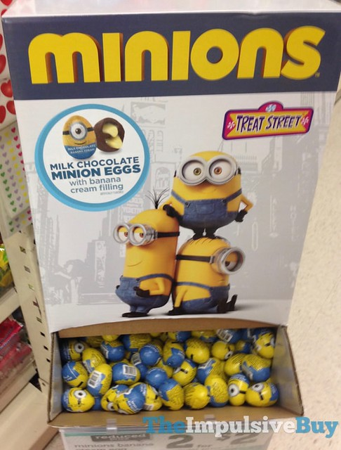 Treat Street Milk Chocolate Minions Eggs with Banana Cream Filling