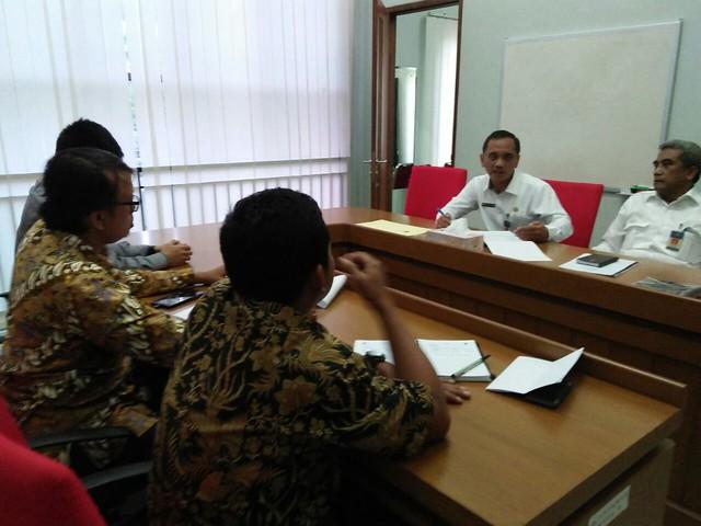 Rakor KPU Kab.Tulungagung Bersama BPKAD Kab.Tulungagung(27/4)