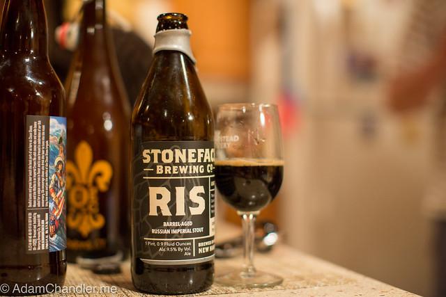 Stoneface RIS - Rum Barrel Aged