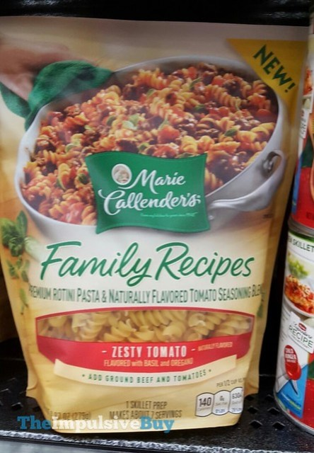 Marie Callender's Family Recipes Zesty Tomato