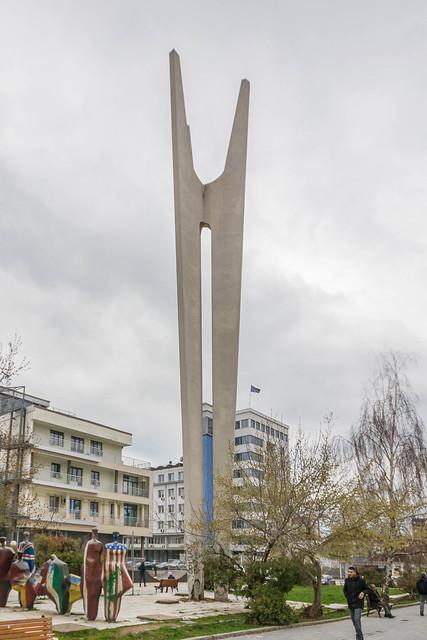 Brotherhood and Unity' Monument, Pristina