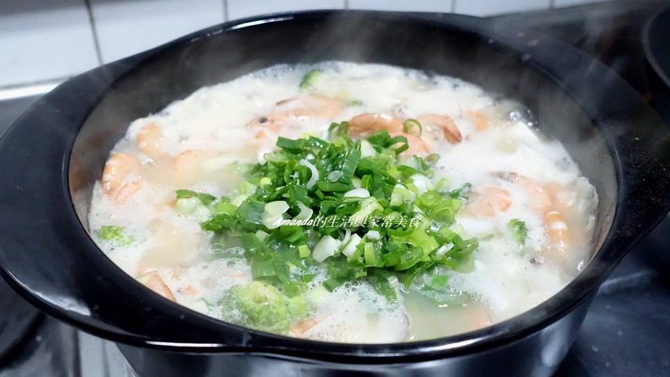 味噌海鮮鍋 (2)