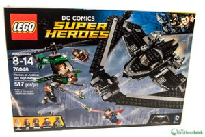 76046 Heroes of Justice: Sky High Battle