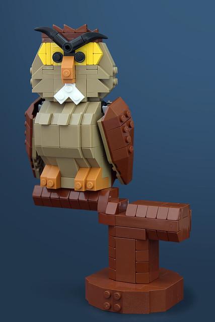 Archimedes Owl - LEGO Disney Archimede
