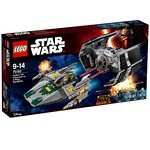LEGO Star Wars 75150 Vader's TIE Advanced vs. A-Wing Starfighter box